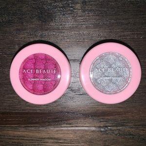 Ace Beauty Glimmer Eyeshadows